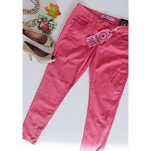 Pink FreeStyle Revolution Skinny Pants Size 13